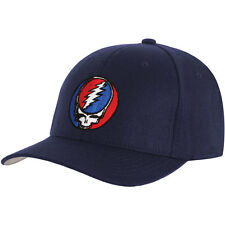 Grateful Dead Men's Steal Your Face Baseball Cap Adjustable Blue