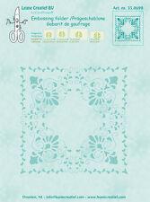 Leane Creatief Embossing Folder CURLICUE 14.4cm x 16cm 35.0690