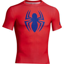 UNDER ARMOUR ALTER EGO COMPRESSION SPIDERMAN T-SHIRT - Large 1244399 603