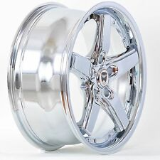 Set of 4 GWG Wheels 17 inch Chrome DRIFT Rims fits 5X110 SAAB 9-3 AERO 2004-2011
