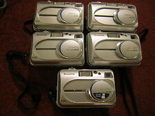 lot of  5 fujifilm  cameras camera   a210  working   d9