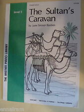The Sultans Caravan easy piano solo by Jane Smisor Bastien 1981 cover by Gourley