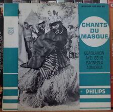 DJAHO GOLE/DEÏJA ET SES CHANTEURS CHANTS DU MASQUE FRENCH EP PHILIPS PROMO