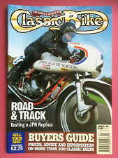 CLASSIC BIKE - January 1994 - Triumph Bonneville T120 - 500cc Scott TT Replica