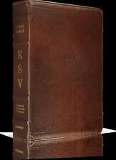 ESV Study Bible (Cowhide, Deep Brown Leather, w/FREE Access to Online Version)