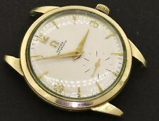 Omega Automatic 10K gold filled rare elegant automatic men's watch movement