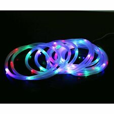 39.4FT 100leds Solar power rope tube string light led Fairy Ourdoor Garden