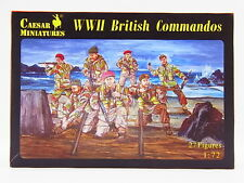 LOT 14690 | Caesar Miniatures 073 WWII British Commandos 1:72 Bausatz NEU in OVP