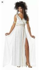 California Costume Sexy Athenian Goddess Greek Roman Halloween Adult Size XL