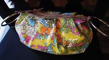 "Authentic Kate Spade Amanda Bracelet Bag Clutch ""PALEY PAISLEY"" SEQUIN FLORAL"