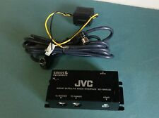 JVC KS-SRA100 interface Sirius Satellite Radio Adapter USE WITH YOUR SCC1