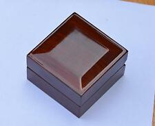 ring or earrings or others jewelry wood box 2.6''X2.6''X2''