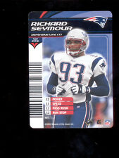 2003 NFL Showdown RICHARD SEYMOUR New England Patriots Rare Card
