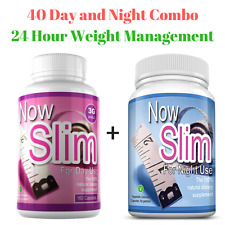 Now Slim® 3G Capsules, Day & Night Combo,Strong Slimming Pills, Fat Burners,Diet