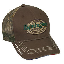Remington 2016 200th ANNIVERSARY / MESH back Realtree camo hunting hat