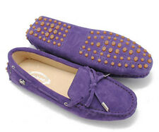 Casual Womens Oxfords Soft Slip On Leisure Driving Lace Up Loafer Suede  shoes
