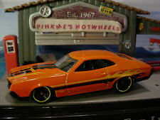 2016 Hot Wheels '72 FORD GRAN TORINO SPORT ✰orange;yellow Flame✰Loose✰Muscle