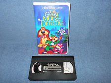 WALT DISNEY THE GREAT MOUSE DETECTIVE VHS BLACK DIAMOND CLASSIC CLAMSHELL - NICE