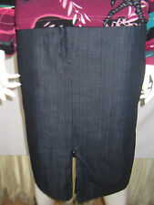 CAPTURE Womens Blue Straight Skirt Size 12