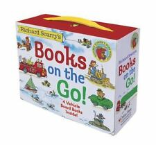 Richard Scarry's Books on the Go by Richard Scarry (2015, Board Book)