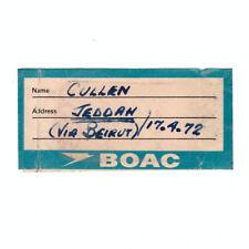 BOAC Airways - Della compagnia aerea Bagagli Adesivo