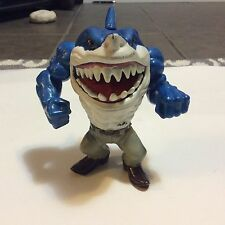 Vintage Street Sharks Ripster Figure Out Of Box.