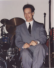 Xena Ted Raimi Joxer sitting by drums 8x10 from Europe (cruise photo) photograph