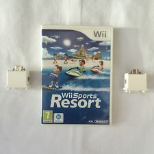 Wii Sports Resort Nintendo Wii PAL COMPLETE+ 2 Official Wii Motion Plus