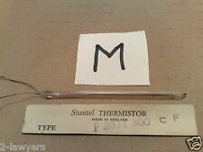 VINTAGE ELECTRONIC COMPONENT * STANTEL THERMISTOR F23 F2311 300 CF * GLASS TUBE