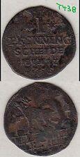 Anhalt-Bernburg Victor Friedrich Cu 1 Pfennig 1755 Jürgen Schmidt stampsdealer