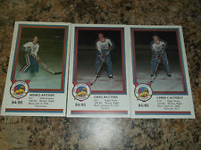 1984-85 VICTORIA COUGARS GREG BATTERS WHL PLAYER CARD
