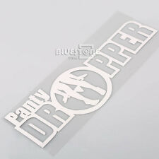 Funny Panty Dropper Car Sticker Decal For Euro Drift Lowered Stance Window