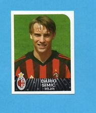 PANINI CALCIATORI 2002-03- Figurina n.232- SIMIC - MILAN -NEW