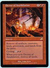 MTG 4X SCOURGE DECREE OF ANNIHILATION MINT