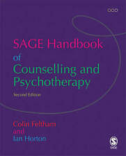 The SAGE Handbook of Counselling and Psychotherapy, Good Condition Book, Colin F