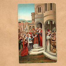 Art Card 1900's Stengal The Ankunit in Rome By Memling BR2