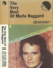 Merle Haggard The Very Best Of   CASSETTE ALBUM COMPILATION COUNTRY EMI CAPITOL
