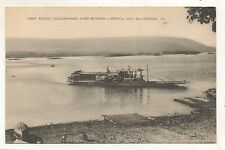 Millersburg Car Ferry, Susquehanna River Paddle Wheel PA Dauphin County PC 2