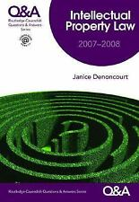 Questions and Answers: Qa Intellectual Property Law 2007-2008 by Janice...