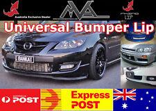 RHINO LIP FRONT BUMPER SPOILER SPLITTER KIT MAZDA PROTEGE MIATA 3 5 6 MILLENIA