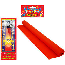 2x VIP RED CARPET RUNNER 15ft x 2ft WEDDING BIRTHDAY PARTY HOLLYWOOD EVENT PROP