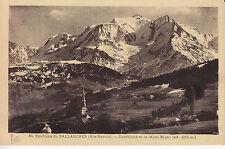 Environs de Sallanches Combloux et le Mont Blanc   CPA
