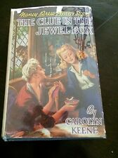 The Clue in the Jewel Box Nancy Drew Keene 1943C-3 HC DJ