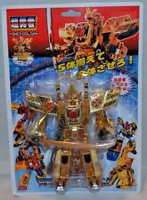 2013 Polyfect Power Goldan Transforming Robot Dinosaur Gold Mecha Godzilla KO