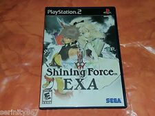 Shining force dugroupe us ntsc sony playstation 2 ps2