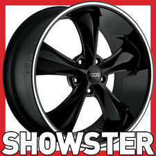 "18x8 18x9 18"" Foose Legend black wheels Ford Mustang 67 on pre AU Falcon Valiant"
