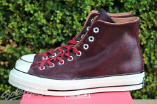 CONVERSE ALL STAR CHUCK TAYLOR CTAS 70 HI SZ 11 BLACK BURGUNDY 151153C