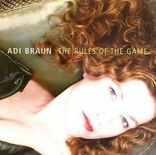 FREE US SH (int'l sh=$0-$3) NEW CD Adi Braun: Rules of the Game