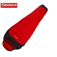 Brand New White Duck Down Mummy Sleeping Bag -25 -15 0 degree