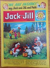 JACK & JILL COMIC 3 February 1979 Birthday Gift The Wombles Tiger Tim
